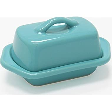 Chantal Aqua Mini Butter Dish
