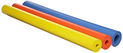 Maddak Closed Cell Foam Tubing Bright Color Assortment, 8.8 Ounce ()