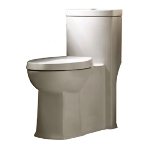 American Standard 2891.200.020 Boulevard Siphonic Dual Flush Right Height Elongated One-Piece Toilet with Seat, White by American Standard
