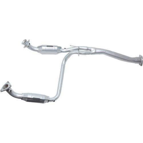 Catalytic Converter Compatible with 2003-2008 Chevrolet Express 1500 Aluminized Steel Tube 4 Sensor Ports Upstream and Downstream