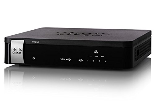 The Excellent Quality RV130 VPN Router by Cisco