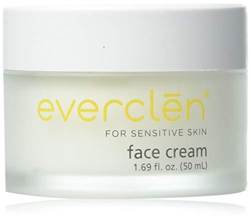 Home Health Everclen Face Cream - 1.6 fl oz - Gentle Skin Moisturizer, Soothes, Softens & Nourishes Sensitive Skin, Clinically Proven - Non-GMO, Paraben-Free, Fragrance-Free, Vegan