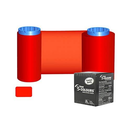 P430i Color Zebra (800015-102 P330i P430i Red Monochrome Ribbon for Zebra iSeries and C Series Card Printer, 1000 Images Original Color Ribbon)