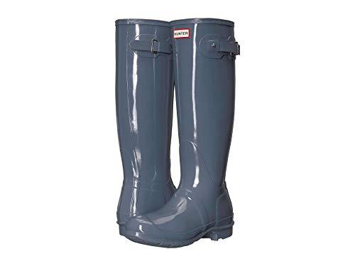 - Hunter Women's Original Tall Rain Boots Gull Grey 9 M US