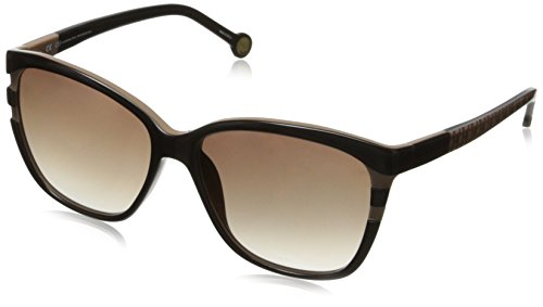 carolina-herrera-womens-she543-6up-wayfarer-sunglassesbrown-taupe57-mm