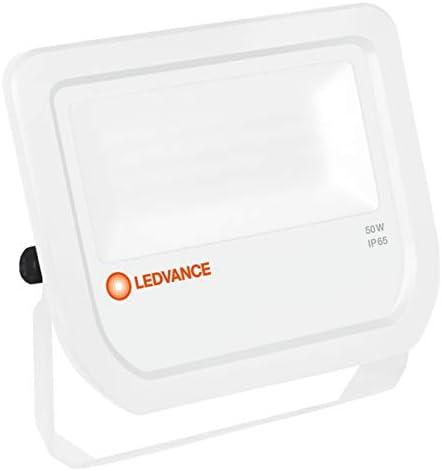 LEDVANCE LED Fluter | Flutlicht-Leuchte für Außenanwendungen | Warmweiß | 155,0 mm x 180,0 mm x 46,0 mm | FLOODLIGHT 50 White