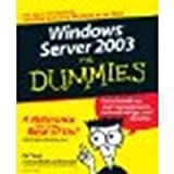 img - for Windows Server 2003 For Dummies by Tittel, Ed, Stewart, James M. [For Dummies, 2002] (Paperback) [Paperback] book / textbook / text book