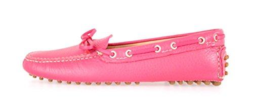 Voiture Chaussures Femme kdd006en cuir Mocassins.