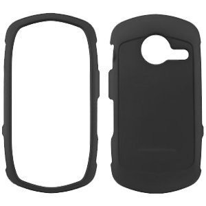 Casio GzOne Commando C771 Rubberized Snap On Cover, Black