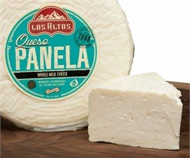 Queso Panela Los Altos (Semi Soft Whole Milk Cheese) 3 Lb by Los Altos