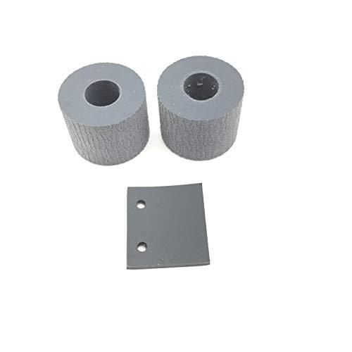 - 5SET OKLILI PA03541-0001 PA03541-0002 Pick Pickup Roller Tire Separation Pad for Fujitsu ScanSnap S300 S300M S1300 S1300i