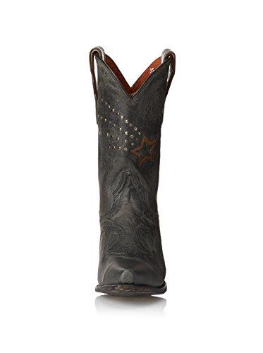 Dan Post Womens Dallas Star Western Boot Nero