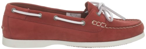 Aigle Americasual W night P4312 - Zapatos de cuero para mujer Rojo (Rouge (Paprika Nb))