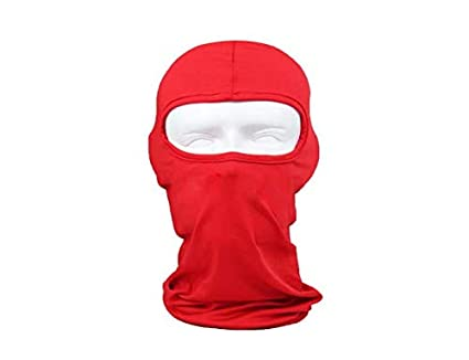 Forspero Hiking Sports Dustproof Windproof Face Mask Motorcycle Hood Outdoor Riding Cycling Cap - Black