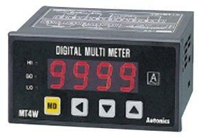 AUTONICS MT4W-DA-4N DIGITAL PANEL METER, 4-DIGIT, 100VAC TO 240VAC by AUTONICS