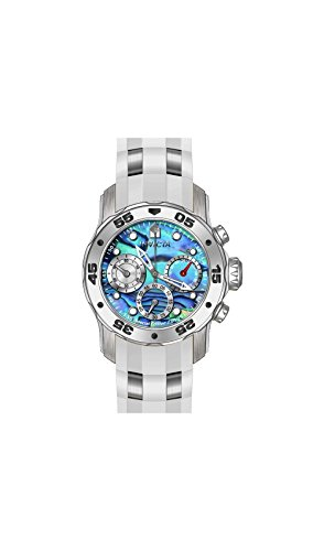 Invicta Men's 'Pro Diver' Quartz Stainless Steel and Poly...