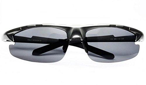 Gafas A1 De Sol Gafas De La De A2 Deportes De Sol Marea Hombres Metal Gafas De Moda Polarizados Marco qddaU6