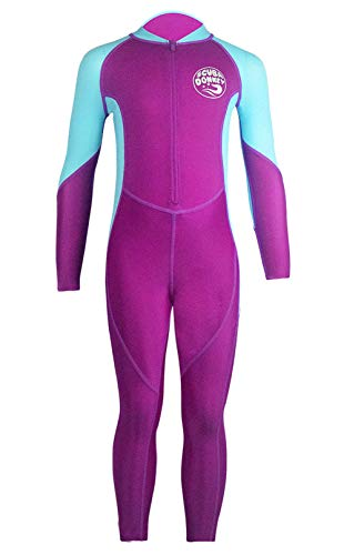 Girls Swim Bodysuit UV Protection One Piece