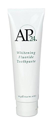 - Nu Skin aULZpZ Ap 24 Whitening Fluoride Toothpaste, 4 oz, 4 Pack