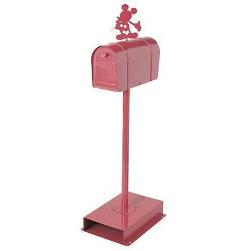郵便ポスト アメリカンスタンドポスト ミッキー レッド セトクラフト SD-6055-RD-3400 B01MA6FHZD 25704