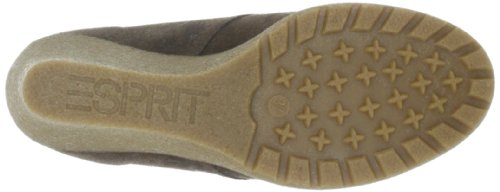 ESPRIT Kiwi Lace Wedge G10365 Damen Halbschuhe Beige (dark taupe 233)