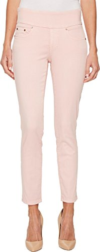 Jag Jeans Women's Nora Skinny Pull on Ankle, Conch Shell, 16