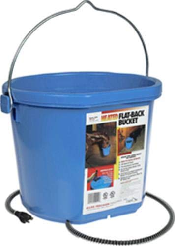 API 5 Gallon 115 Watt Heated Flat Back Bucket 20FB