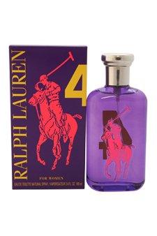 Ralph Lauren The Big Pony Collection # 4 Eau de Toilette Spray for Women, 3.4 Ounce ()