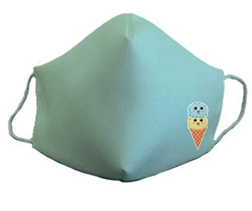 31BIlF9veHL Mascarilla homologada protectora de 3 capas helado Buena respirabilidad Reutilizable: lavable a 60 grados