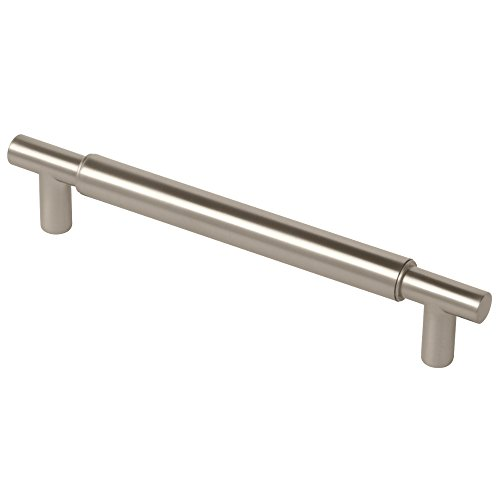 Liberty P00160C-110-C 160mm Kitchen or Furniture Cabinet Hardware Handle Pull Modern Metal, Stainless Steel