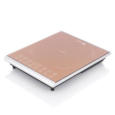 - Fagor Portable 1800 Watt Induction PRO Magnetic Cooktop, Caramel - 962010058