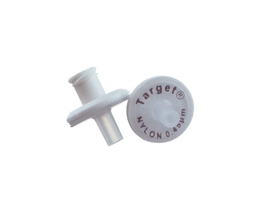 National Scientific Nylon Target Syringe Filter, 0.20µm Pore Size, 4mm Outside Diameter (Case of 100)