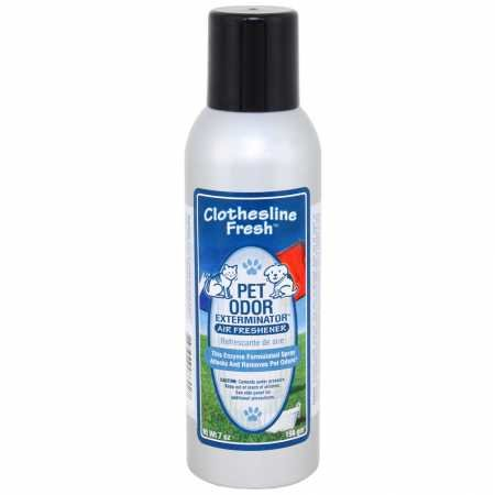 Specialty Pet Products Pet Odor Exterminator Clothesline Fresh Spray (7 oz)