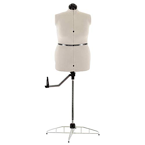 SewingMachinesPlus.com Ava Collection Large Adjustable Dress Form