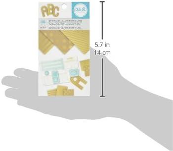 3x 5 Foils Kraft /& Gold 36 Sheets We R Memory Keepers Heatwave Foil Pen