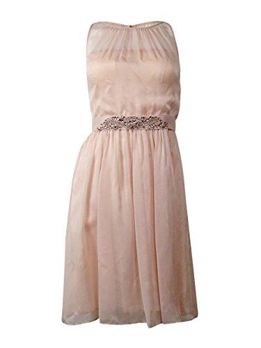 Buy belted blush maxi dress - 4