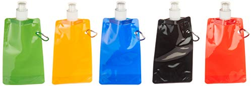 Sea View Treasures 20 Bulk Collapsible Water Bottle Assortment
