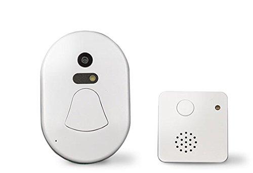 アイポン インターフォン ワイヤレスチャイム ドアベル スマートフォン連動 複数台管理可能 カメラ付き 工事不要 B0796P4QLR