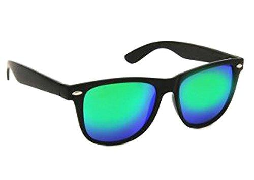 KIDS Children REVO Mirror Black Trendy Sunglasses Age 3-10 (Black, - Teens Glasses Cool For