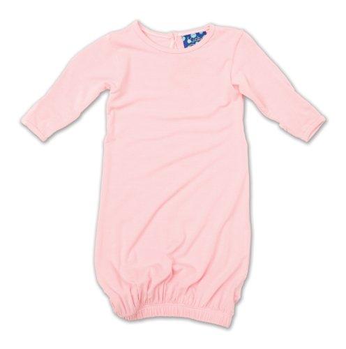 KicKee Pants Layette Gown, Lotus, Newborn - Kicky Pants Girl