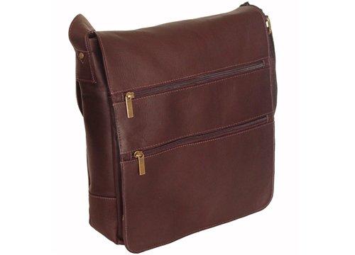 David King & Co. Laptop Messenger Bag with 2 Zip
