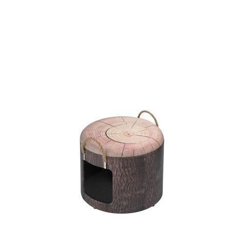 Europet Pet-Box Maison en Bois pour Chat 30 x 26 cm Taille S 434-432266