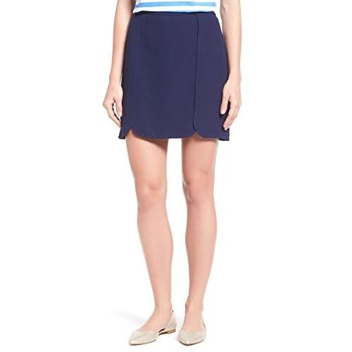 Hot DRAPER JAMES Margaret Miniskirt For Women In Nassau Navy, 14 free shipping