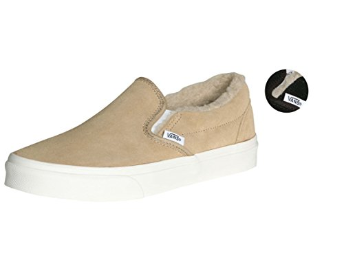 6d4b9db2e7 Vans Men s Classic Slip On (Suede   Suiting) Skateboarding Shoes - Buy  Online in Oman.