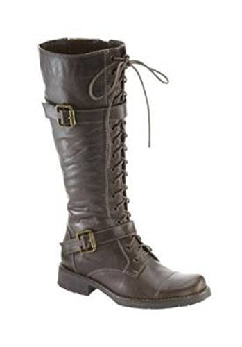 leather Color Brown Cattle gewachstem Boots Brown of qtFnzwOOI