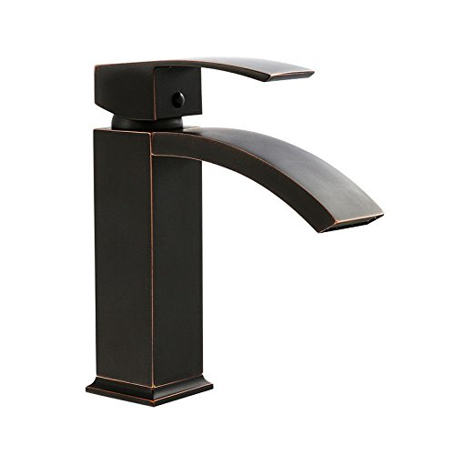 ETERNAL QUALITY Bathroom Sink Basin Tap Brass Mixer Tap Washroom Mixer Faucet The sink faucet copper all the black faucet minimalist quartet hot and cold basin basin in s