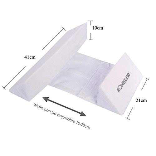 Newborn Baby Side Positioning Sleep Wedge Pillow for Boys and Girls May Prevent Flat Head and Acid Reflux by ROHKLER (Image #2)