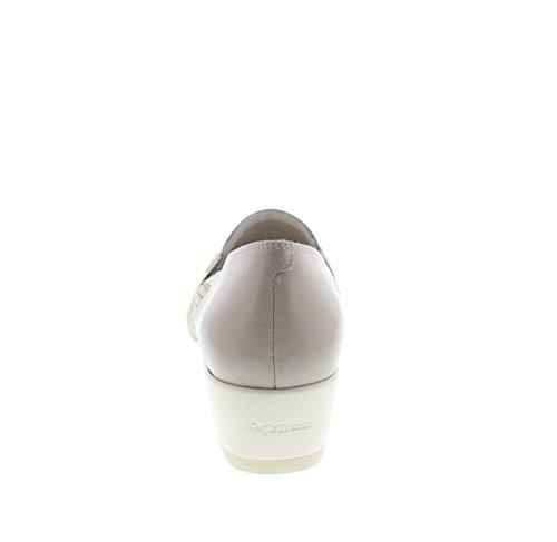 MELLUSO R30502 renna vernice beige CORDA Taglia 37