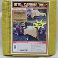 Dize Co Ca1224D 12X24 10Oz Canvas Tarp by Dize