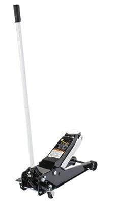 Omega 27035 Magic Lift Black/White Service Jack - 3.5 Ton Capacity